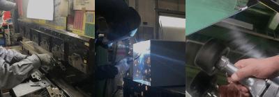 ステンレス材の板金加工から表面仕上げまで一貫対応