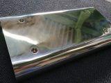 薬品充填機用 ステンレス板金カバー バフ研磨品